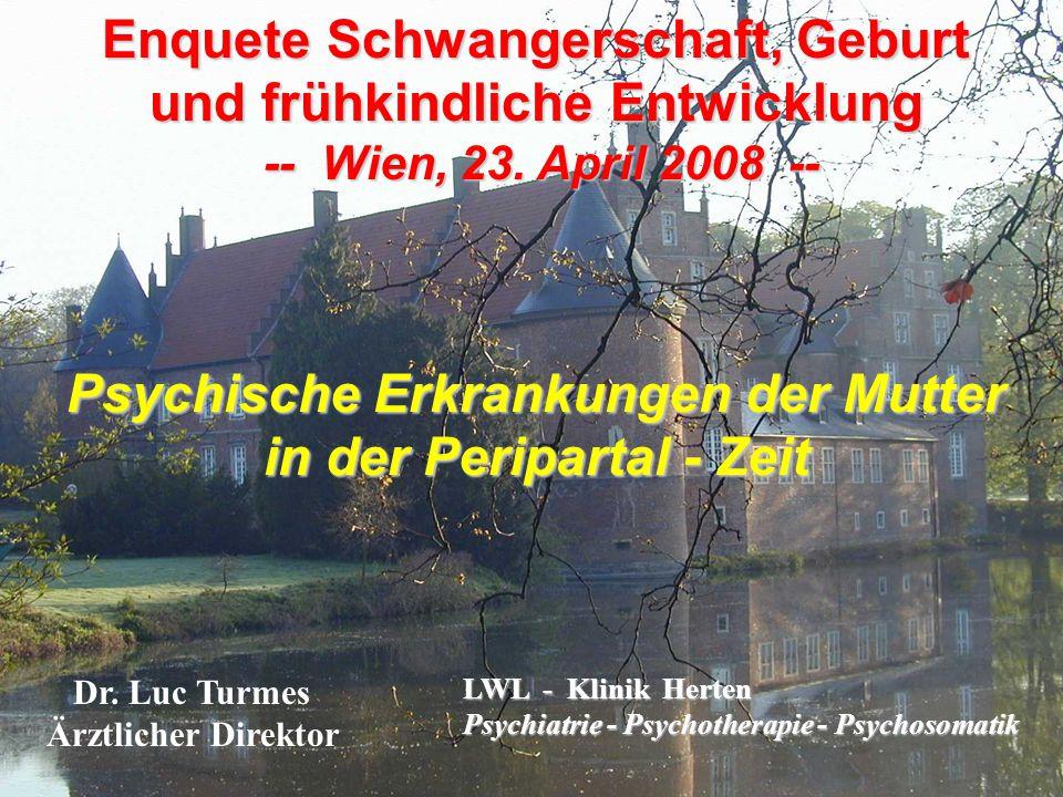 Enquete Schwangerschaft, Geburt und frühkindliche Entwicklung -- Wien, 23.