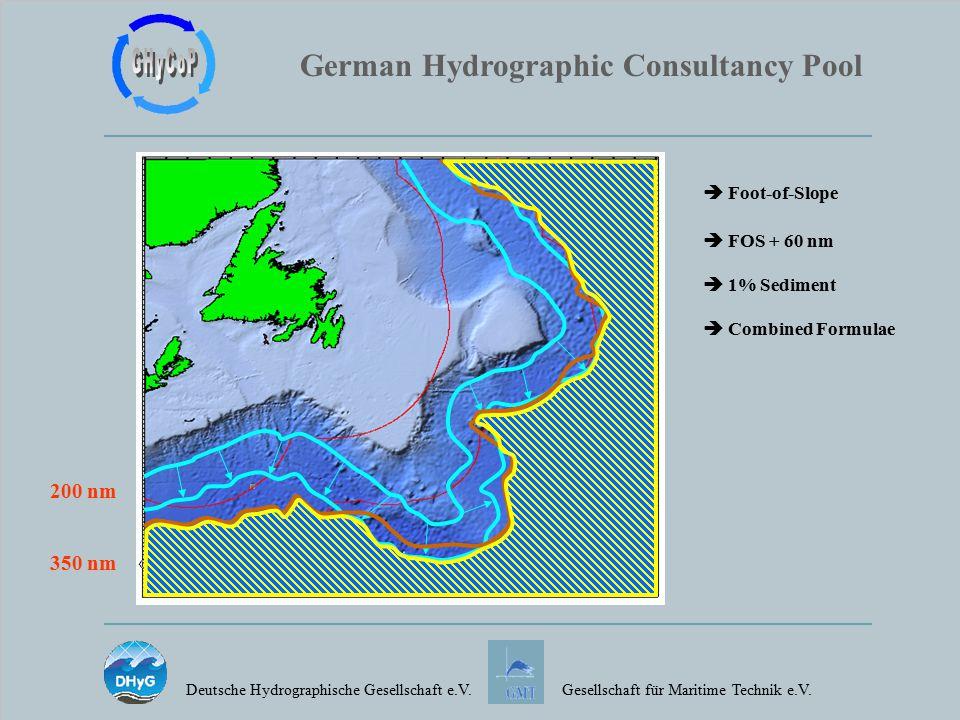 German Hydrographic Consultancy Pool Deutsche Hydrographische Gesellschaft e.V.Gesellschaft für Maritime Technik e.V.