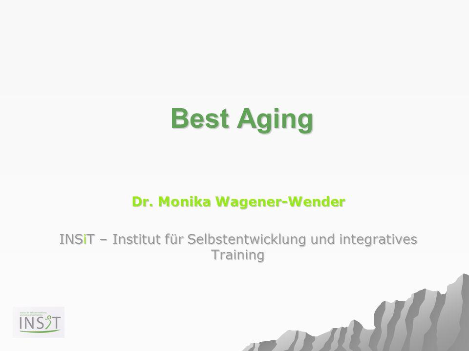 Best Aging Best Aging Dr. Monika Wagener-Wender INSiT – Institut für Selbstentwicklung und integratives Training