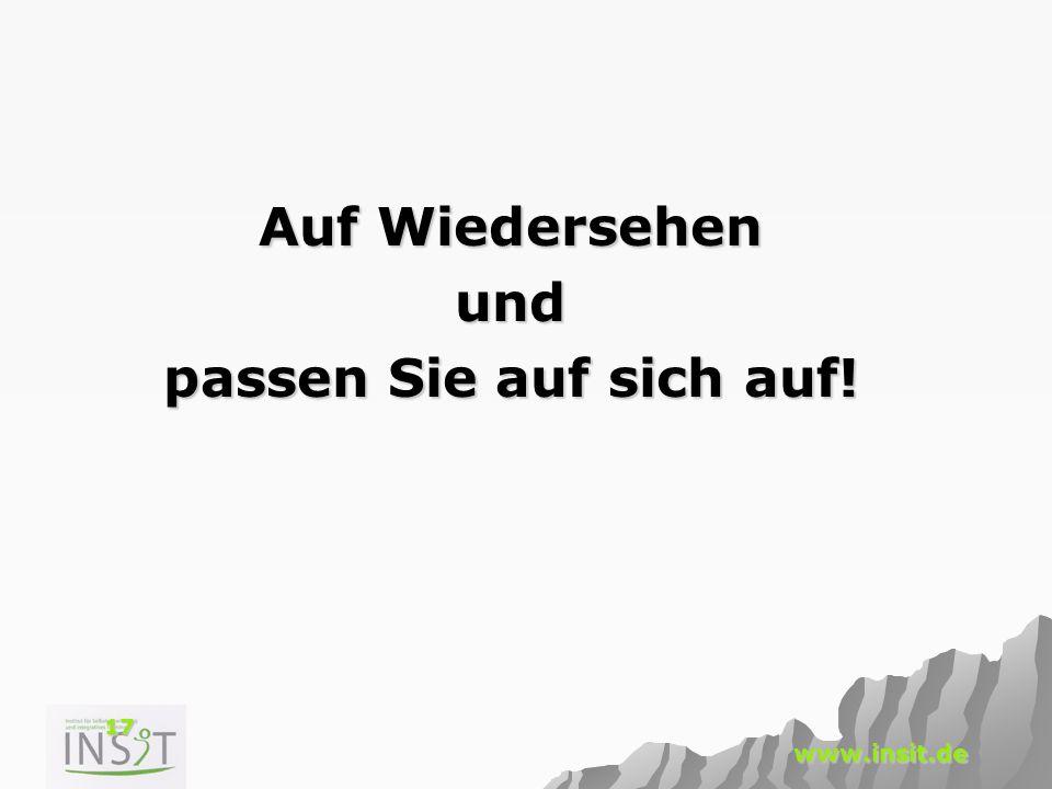 17 www.insit.de Auf Wiedersehen und passen Sie auf sich auf!
