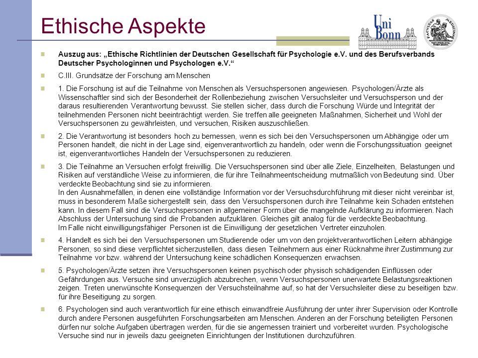"""Auszug aus: """"Ethische Richtlinien der Deutschen Gesellschaft für Psychologie e.V. und des Berufsverbands Deutscher Psychologinnen und Psychologen e.V."""