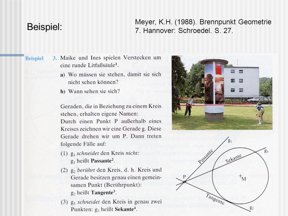 Mittelsenkrechte und Mittelparallele Meyer, K.H.(1988).