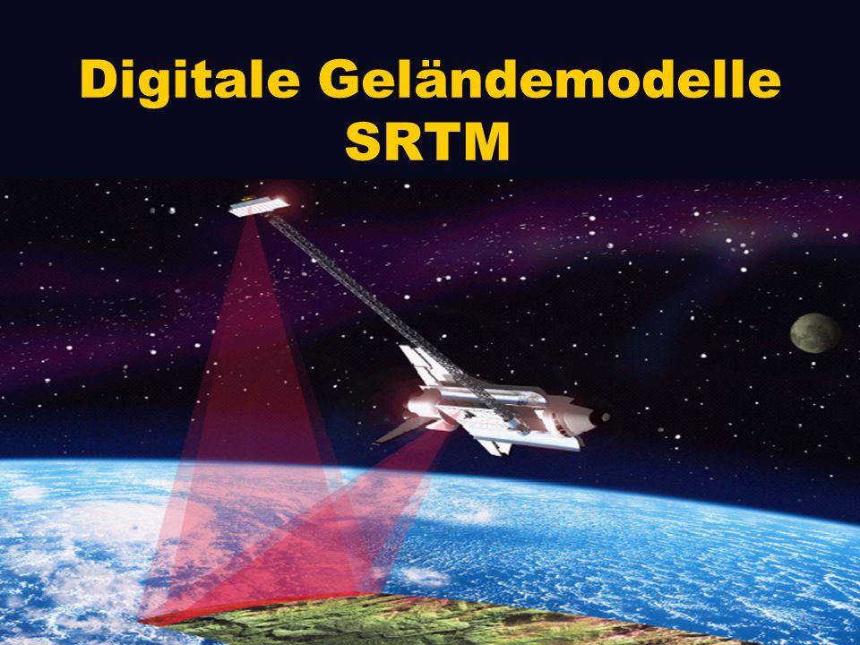 Vorteile von Radar gegenüber optische Verfahren - auch bei Nacht einsetzbar (Permanentmessungen) - unabhängig vom Wetter (Wolkendurchdringend) GIS IV-Seminar SRTM Frank Ottmann 14.05.02
