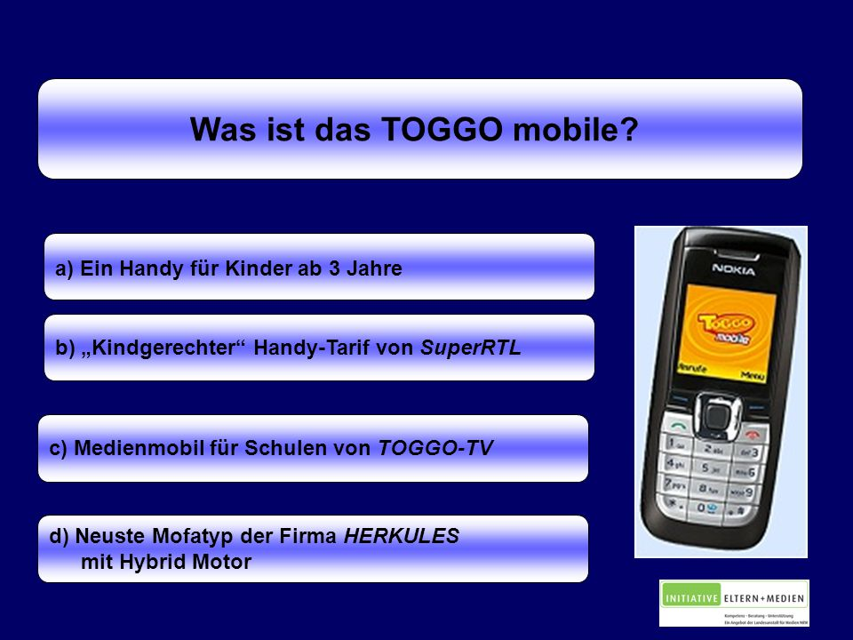 Was ist das TOGGO mobile.
