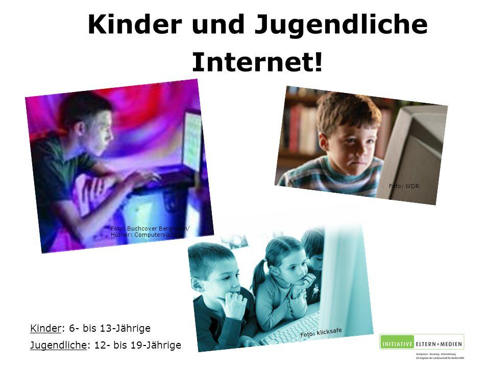 Kinder und Jugendliche Internet.