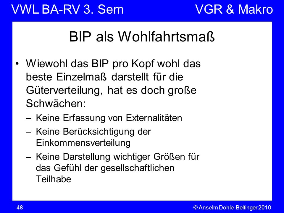 VWL BA-RV 3.