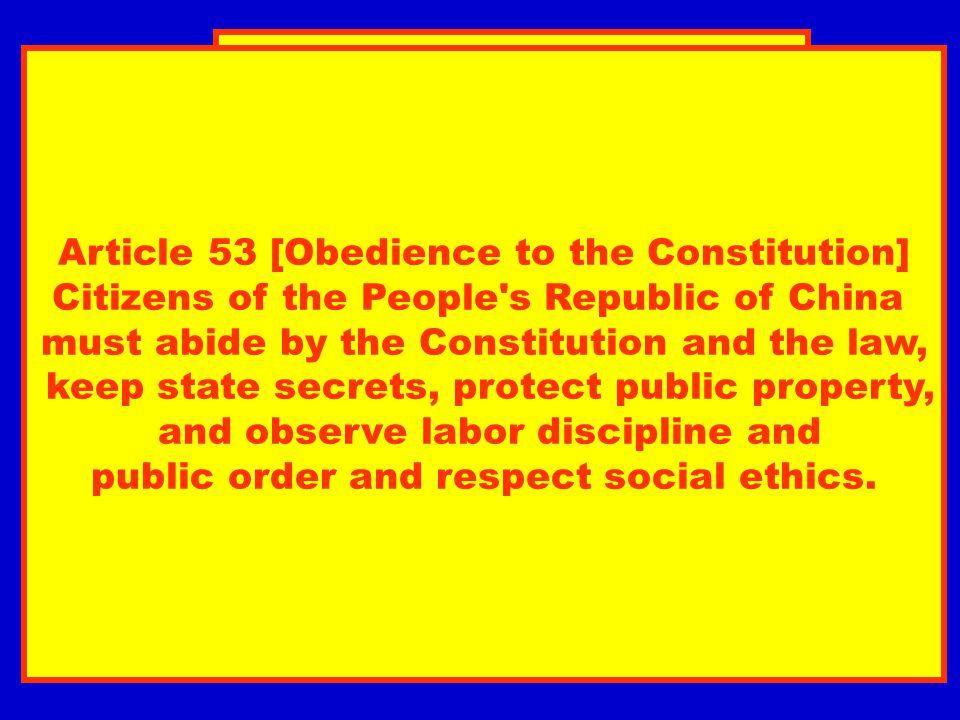 Allgemeine Erklärung von Menschenpflichten (Vorschlag 1997) Art.