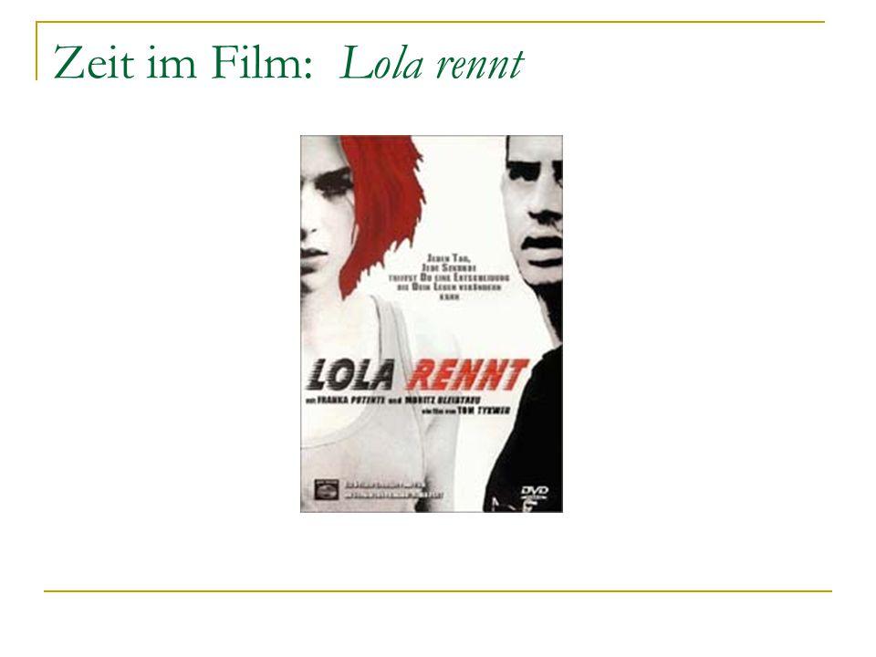 Zeit im Film: Lola rennt