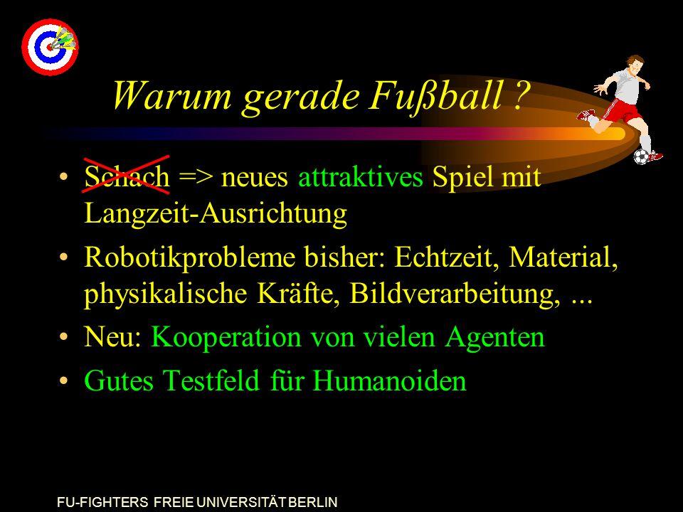 FU-FIGHTERS FREIE UNIVERSITÄT BERLIN Warum gerade Fußball .
