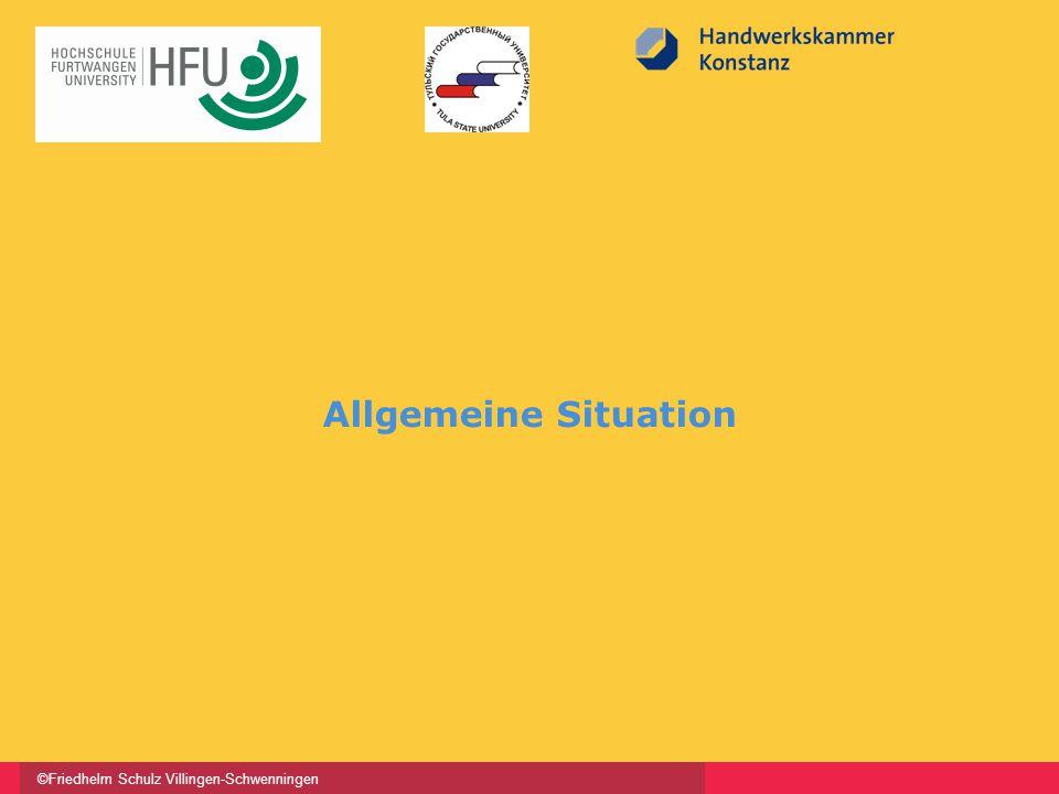 ©Friedhelm Schulz Villingen-Schwenningen Allgemeine Situation