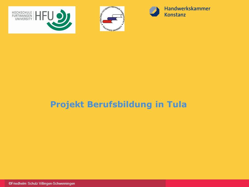 ©Friedhelm Schulz Villingen-Schwenningen Projekt Berufsbildung in Tula