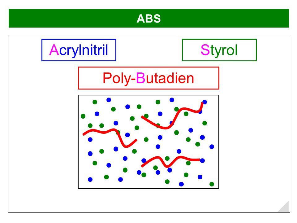 ABS StyrolAcrylnitril Poly-Butadien