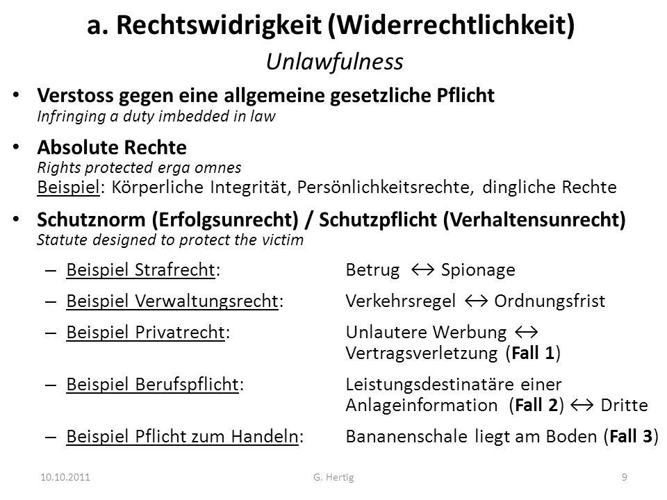 Fall 1: Vertragsverletzung (siehe auch BGE 74 II 23 - 1948) Fischer übergab am 26.