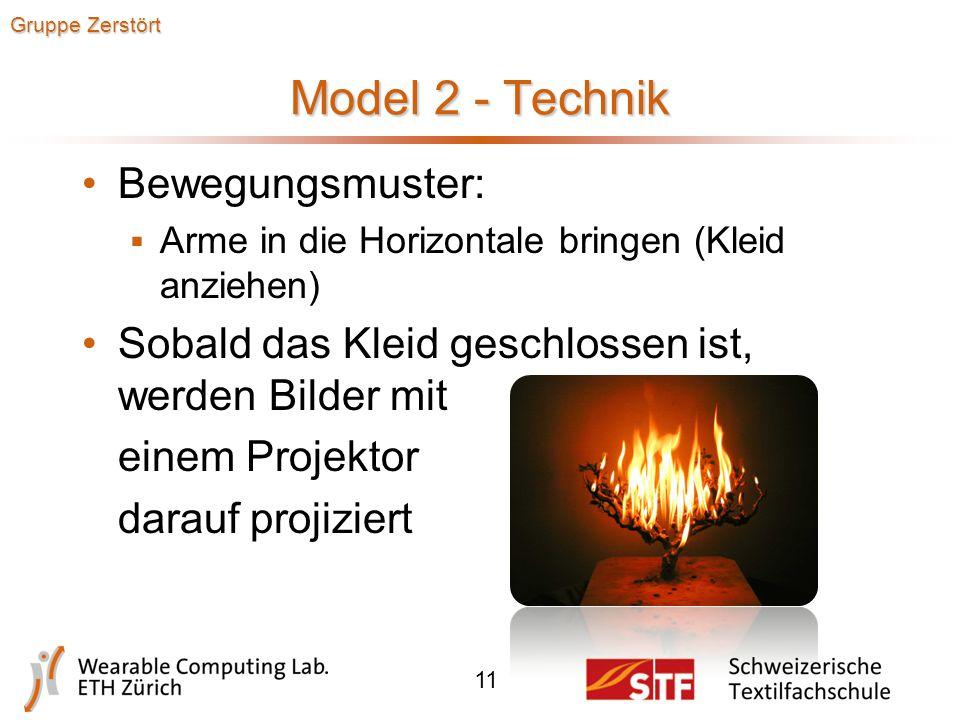 Model 2 - Design 10 Gruppe Zerstört