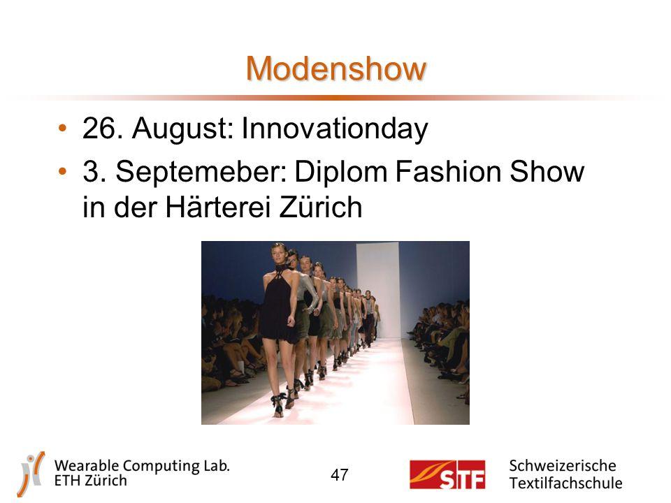Dokumentation 46 www.ready-to-live.ethz.ch