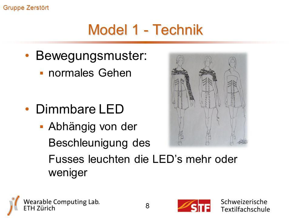 Model 1 - Design 7 Gruppe Zerstört