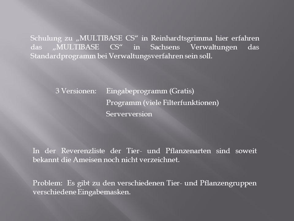 """Schulung zu """"MULTIBASE CS"""" in Reinhardtsgrimma hier erfahren das """"MULTIBASE CS"""" in Sachsens Verwaltungen das Standardprogramm bei Verwaltungsverfahren"""