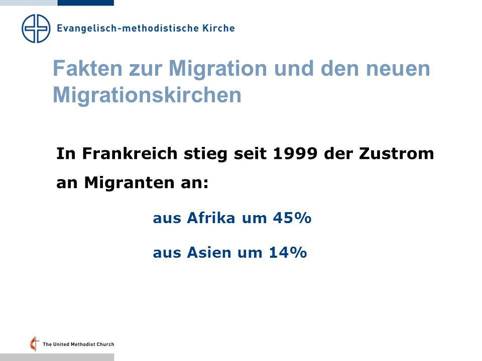 Fakten zur Migration und den neuen Migrationskirchen Laut UNHCR waren 2007 weltweit 67 Millionen Menschen auf der Flucht.