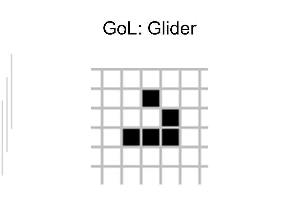 GoL: Glider
