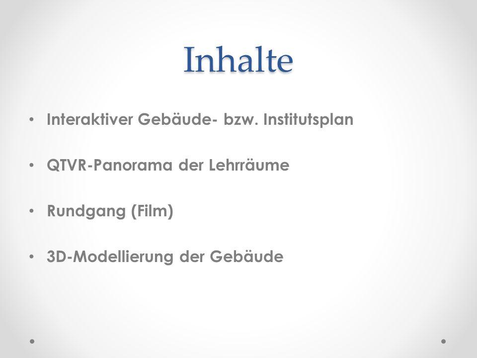Inhalte Interaktiver Gebäude- bzw.