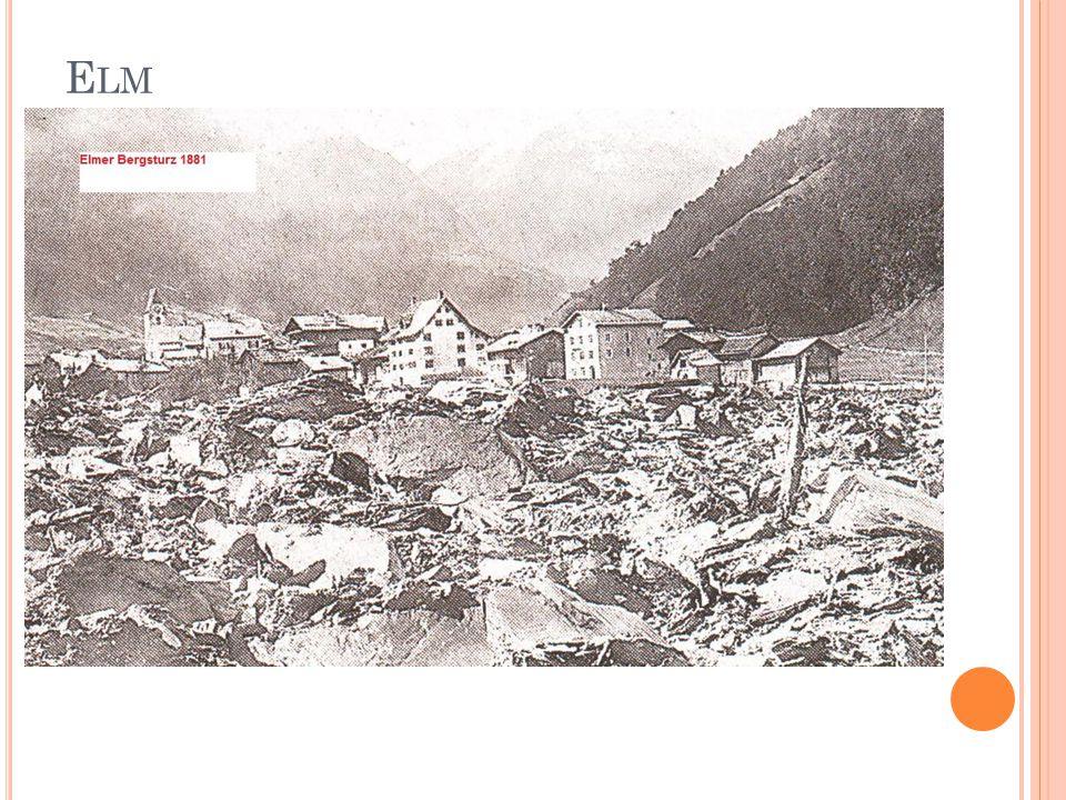 R OSSBERG Am 2.September 1806 ereignete sich die bisher grösste Naturkatastrophe der Schweiz.