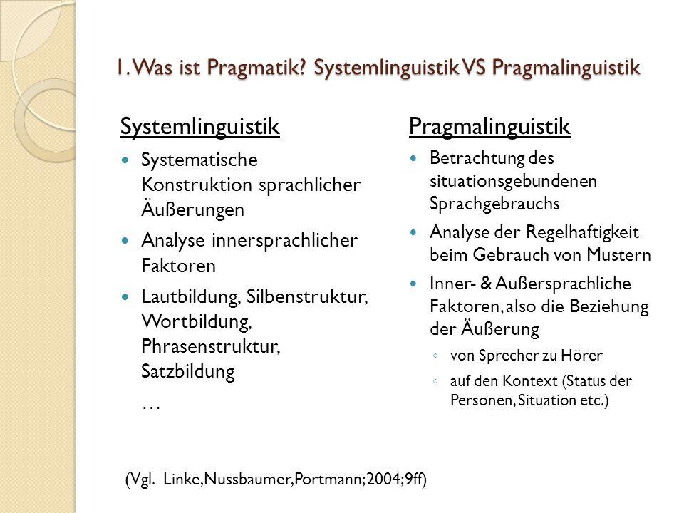 1.Was ist Pragmatik.
