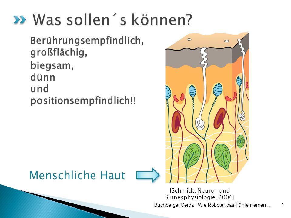 3 Buchberger Gerda - Wie Roboter das Fühlen lernen … Berührungsempfindlich,großflächig, biegsam,dünn und positionsempfindlich!.