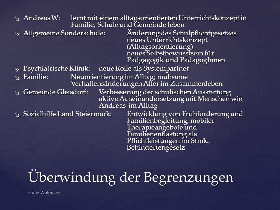  Prinzipien: Die Chance B Unternehmensgruppe Franz Wolfmayr