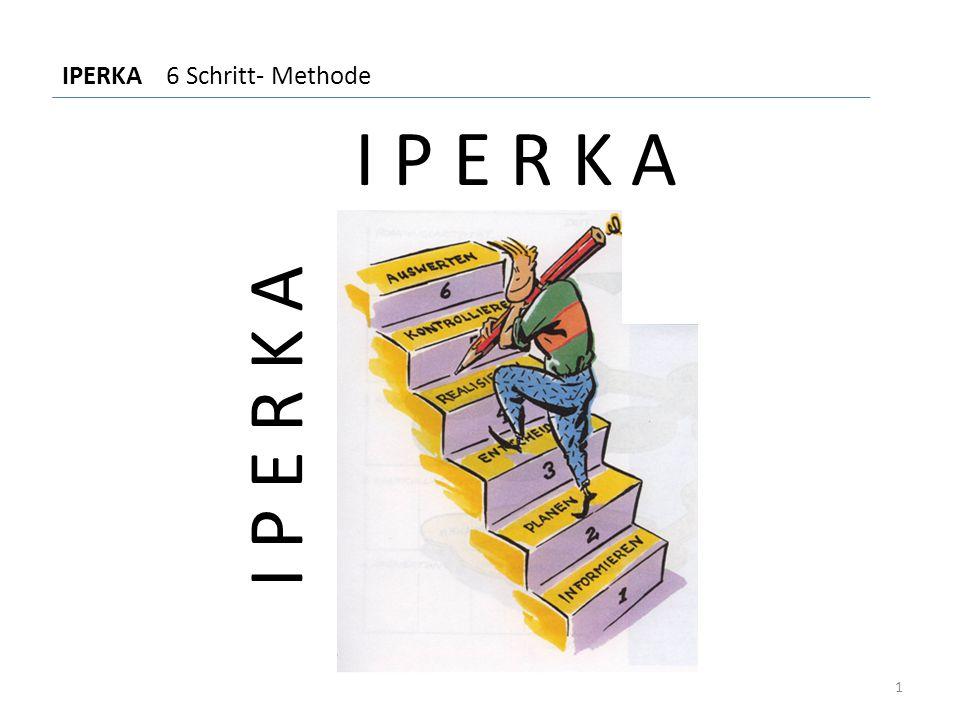 I P E R K A IPERKA 6 Schritt- Methode 1