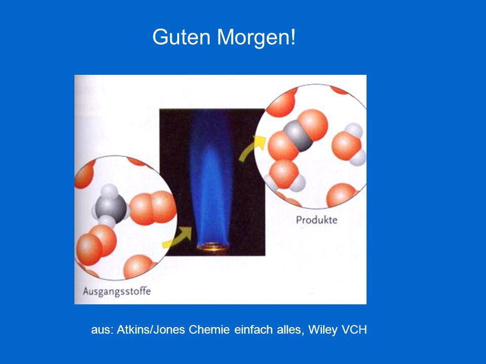 Guten Morgen! aus: Atkins/Jones Chemie einfach alles, Wiley VCH