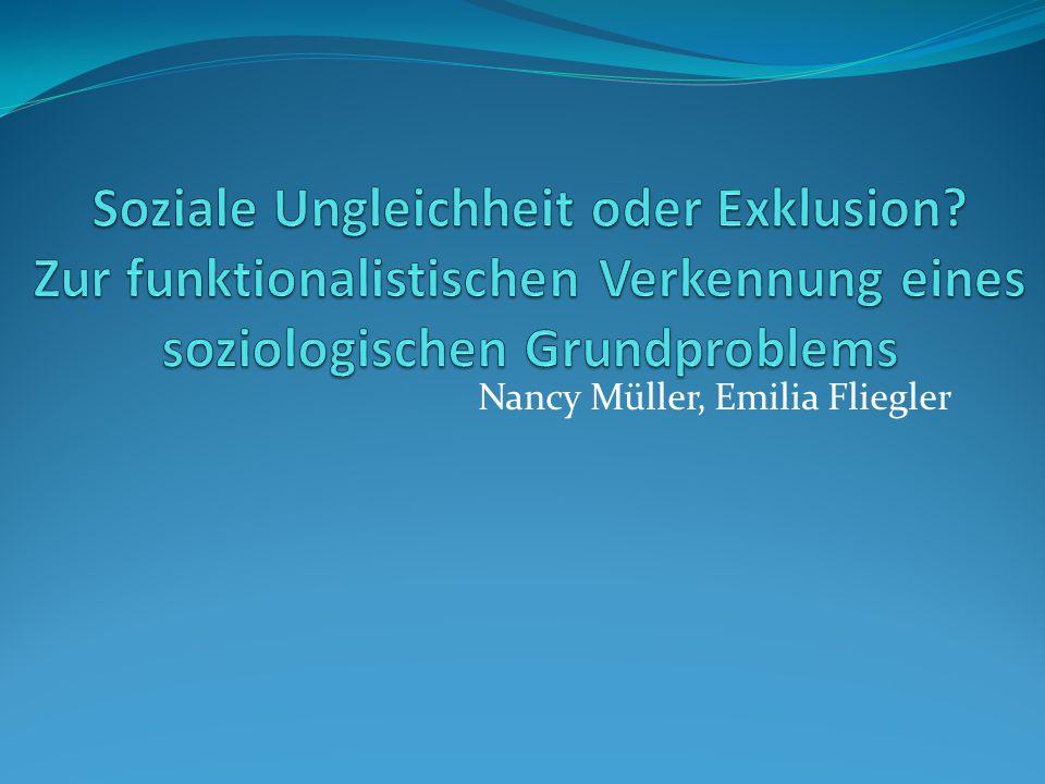 Nancy Müller, Emilia Fliegler