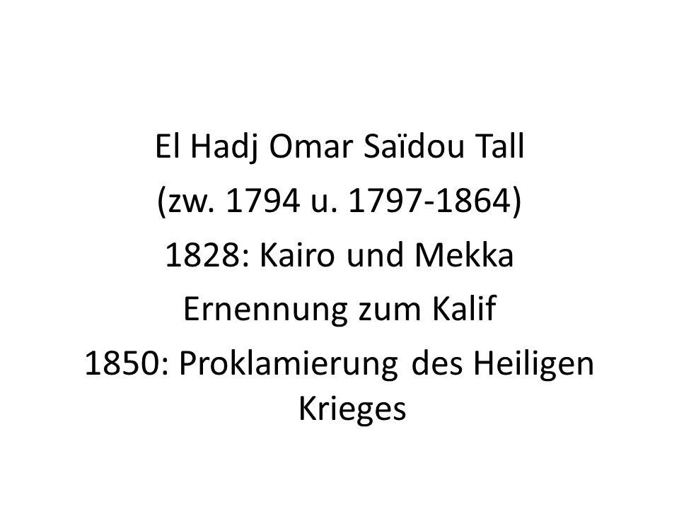 El Hadj Omar Saïdou Tall (zw. 1794 u.