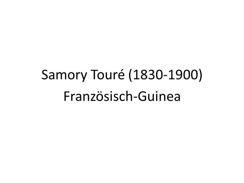 Samory Touré (1830-1900) Französisch-Guinea