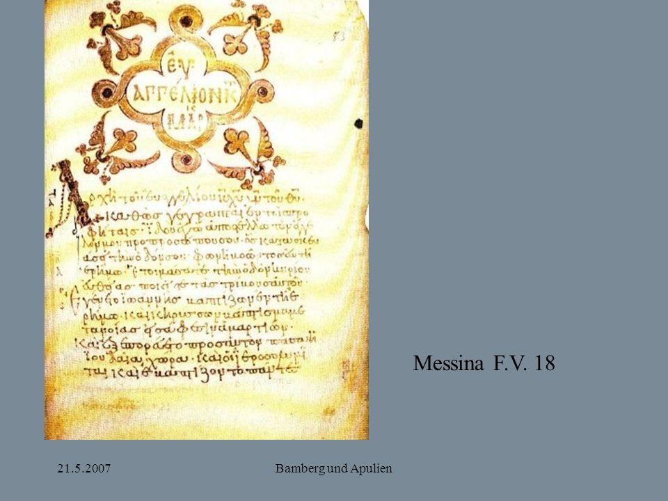21.5.2007Bamberg und Apulien Messina F.V. 18