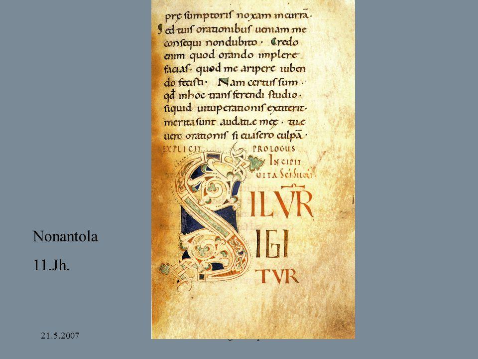 21.5.2007Bamberg und Apulien Nonantola 11.Jh.