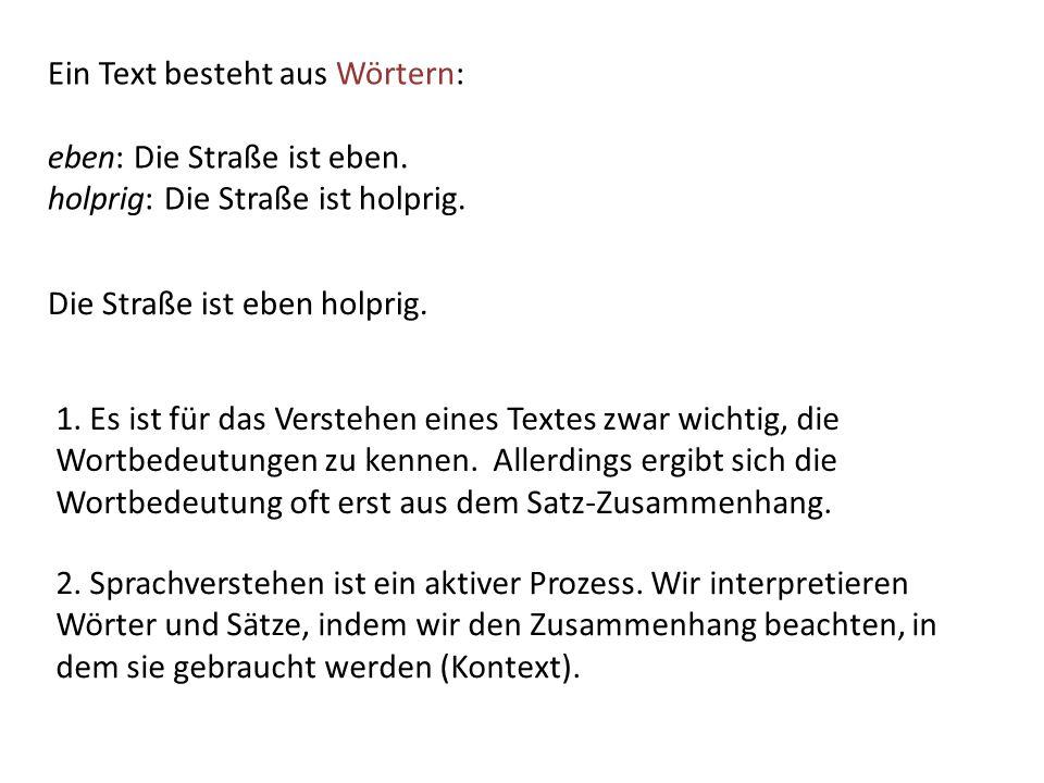 Die Druckerzeugnisse einer mittelständischen Firma: Wie setzt sich dieses Erfordernis bei der konkreten Textarbeit um.