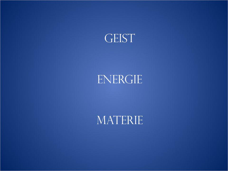 GEIST ENERGIE MATERIE