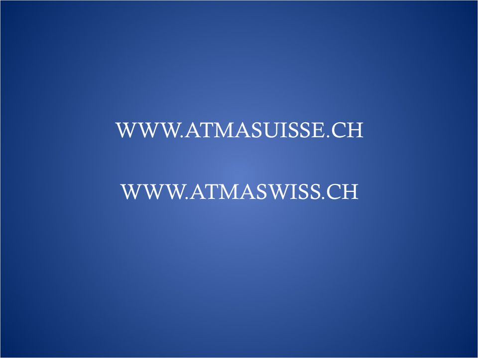 WWW.ATMASUISSE.CH WWW.ATMASWISS.CH