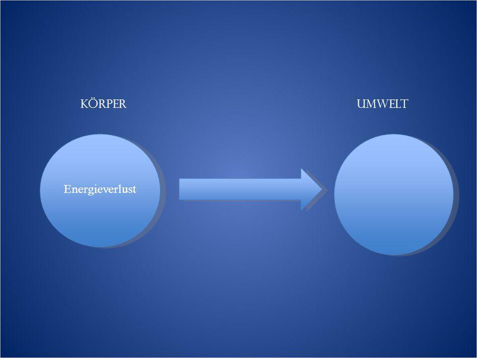 Körper Umwelt Energieverlust