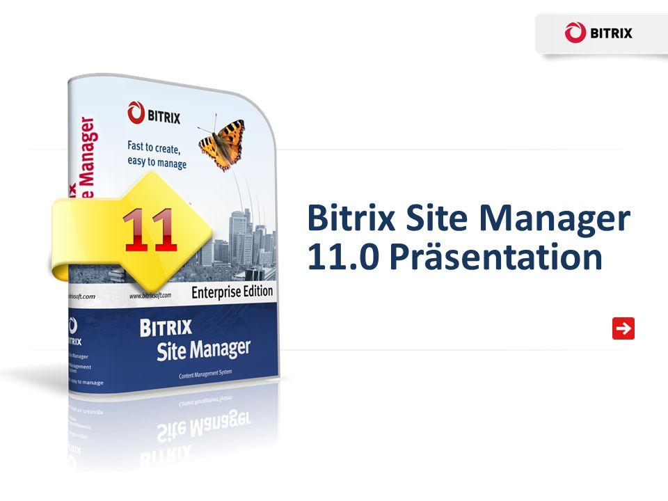 Bitrix Site Manager 11.0 ist kompatibel mit allen gängigen Cloud-Speichern.