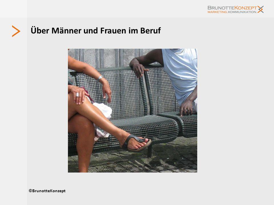 Über Männer und Frauen im Beruf ©BrunotteKonzept