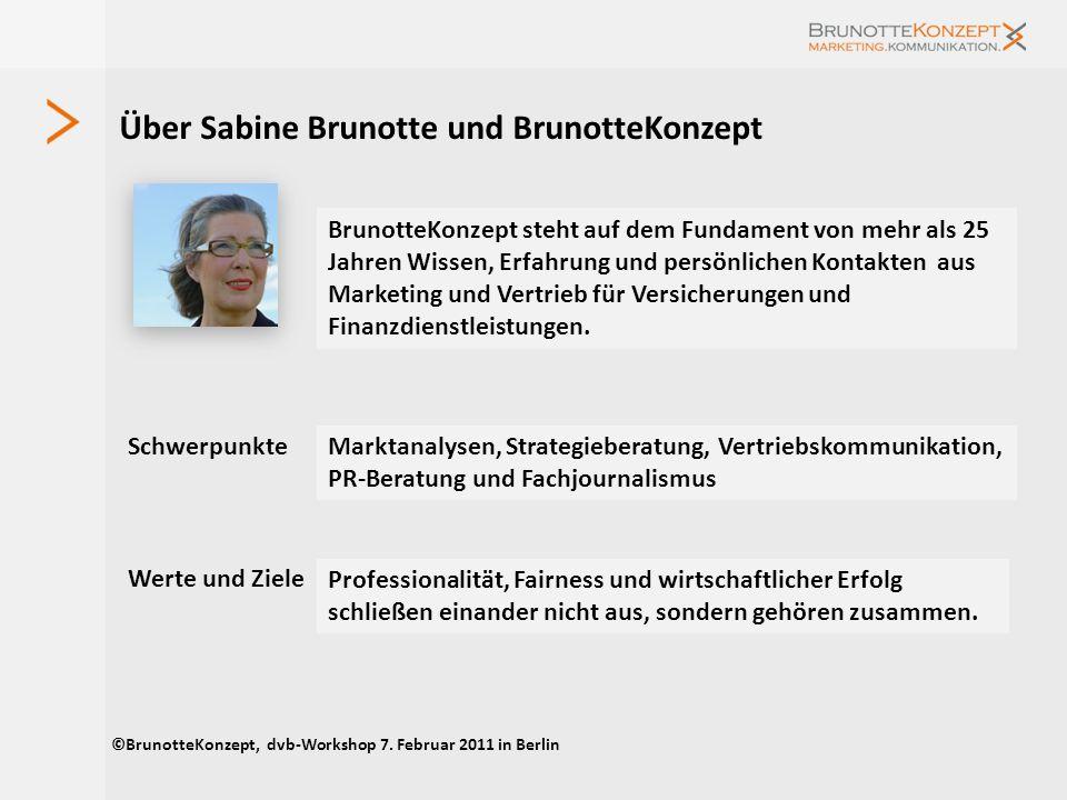 Über Sabine Brunotte und BrunotteKonzept BrunotteKonzept steht auf dem Fundament von mehr als 25 Jahren Wissen, Erfahrung und persönlichen Kontakten a