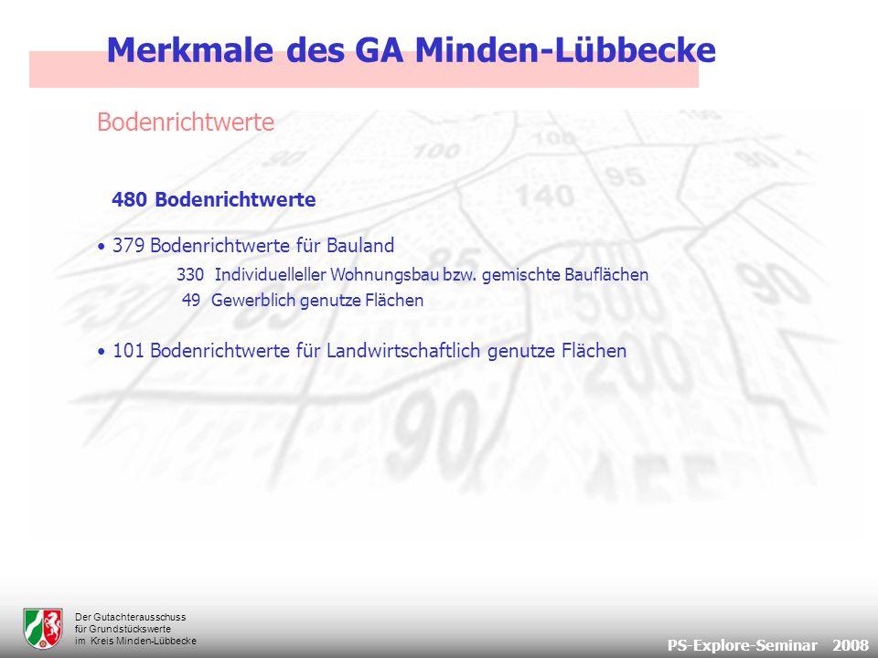 PS-Explore-Seminar 2008 Der Gutachterausschuss für Grundstückswerte im Kreis Minden-Lübbecke Vielen Dank!.