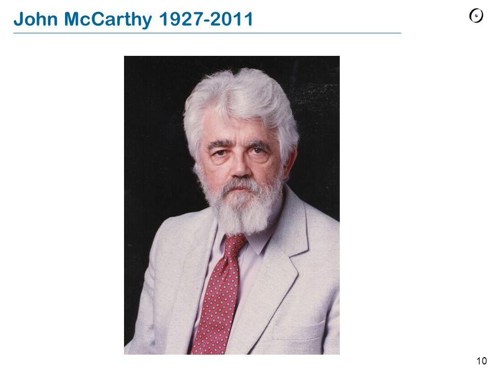 10 John McCarthy 1927-2011