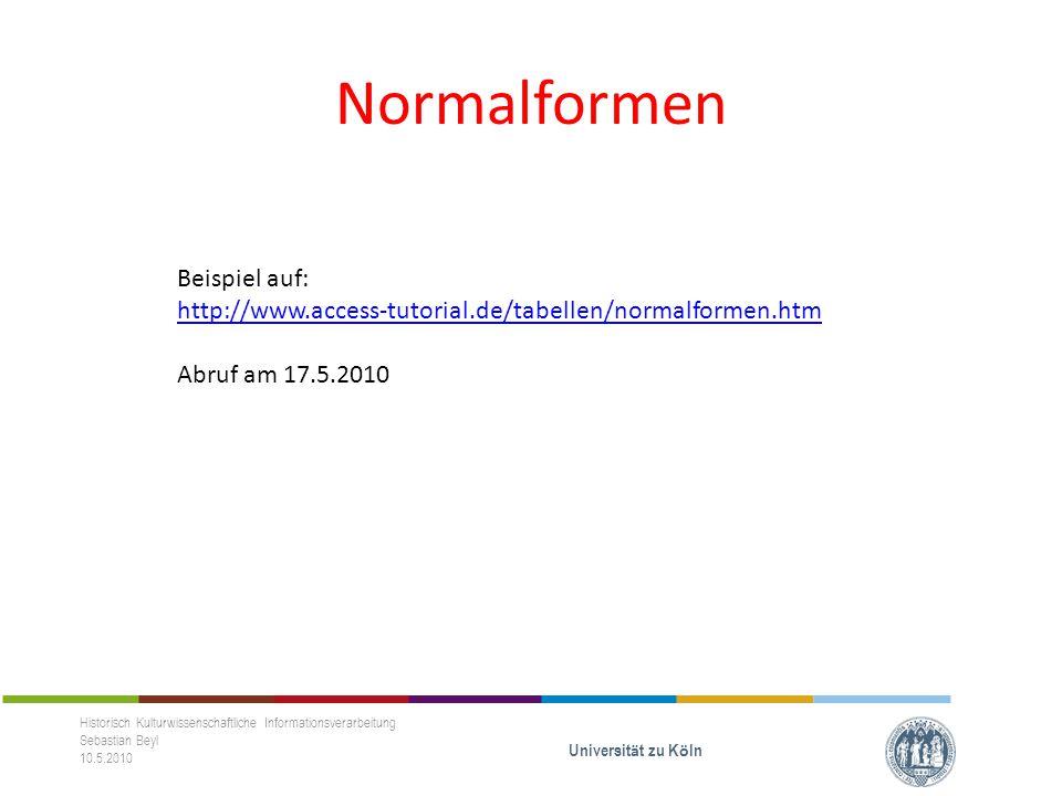 SQL-Sprache Historisch Kulturwissenschaftliche Informationsverarbeitung Sebastian Beyl 10.5.2010 Universit ä t zu K ö ln - Bestandteil der mySQL, NICHT VON PHP!!.
