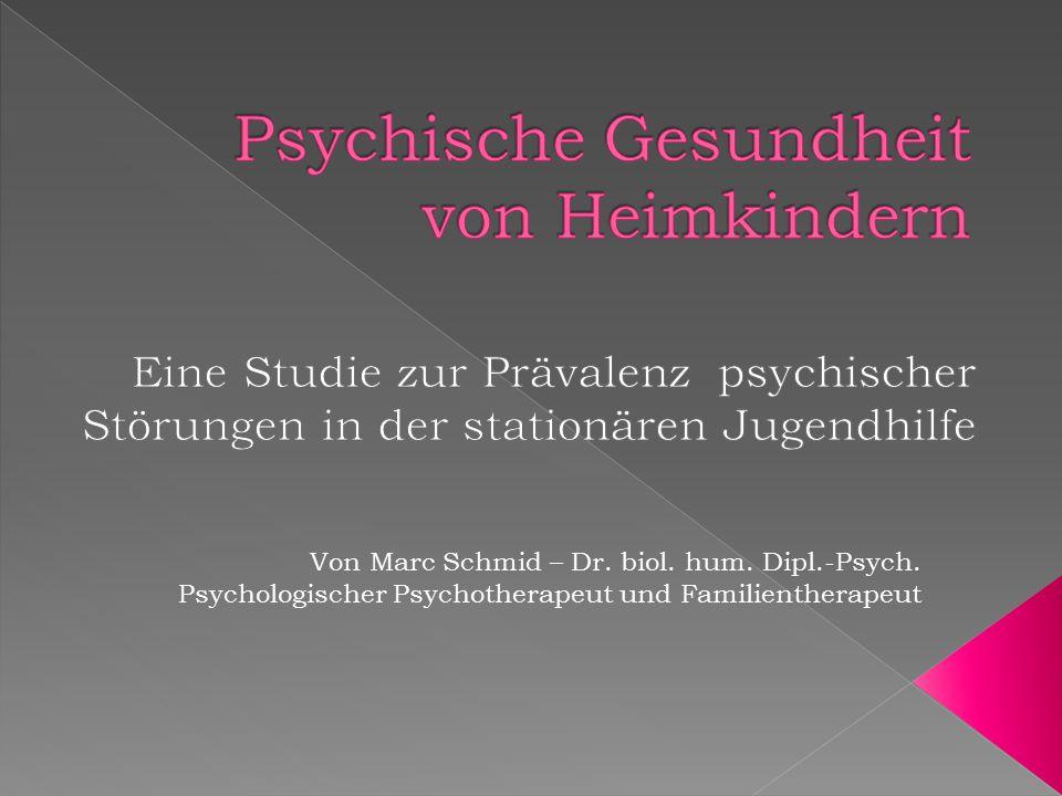 Von Marc Schmid – Dr. biol. hum. Dipl.-Psych. Psychologischer Psychotherapeut und Familientherapeut