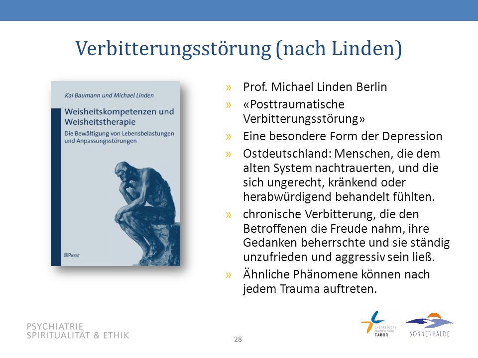 28 Verbitterungsstörung (nach Linden) »Prof.