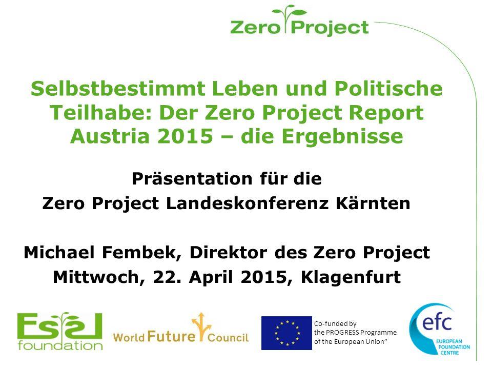 Was ist das Zero Project.
