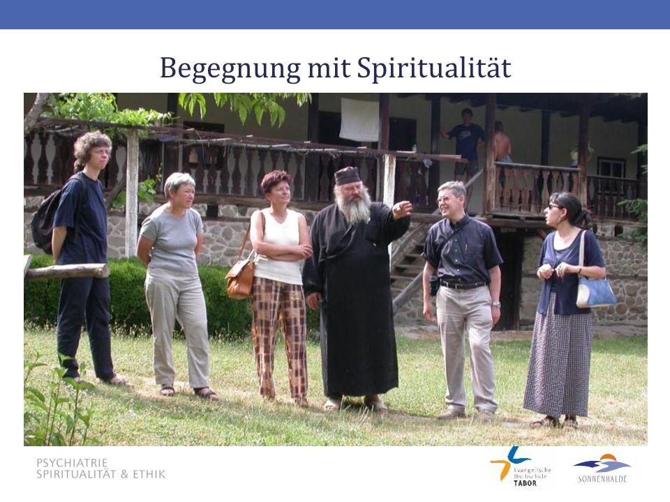 Begegnung mit Spiritualität