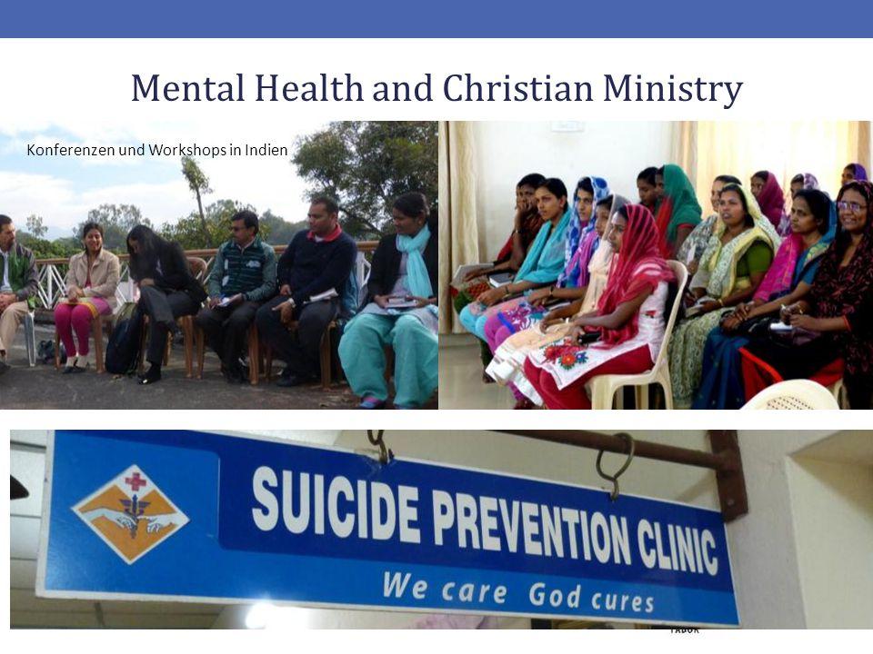 20 Mental Health and Christian Ministry Konferenzen und Workshops in Indien